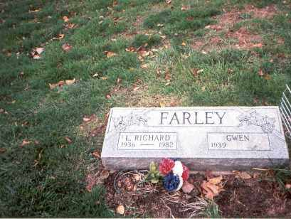 FARLEY, L. RICHARD - Franklin County, Ohio | L. RICHARD FARLEY - Ohio Gravestone Photos