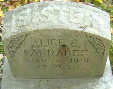 FARRABEE, ALICE L - Franklin County, Ohio   ALICE L FARRABEE - Ohio Gravestone Photos