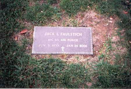 FAULSTICH, JACK L. - Franklin County, Ohio   JACK L. FAULSTICH - Ohio Gravestone Photos
