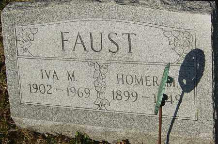FAUST, IVA M - Franklin County, Ohio | IVA M FAUST - Ohio Gravestone Photos