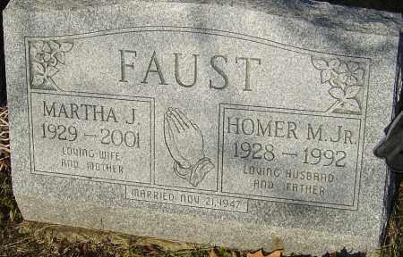 FAUST JR, HOMER M - Franklin County, Ohio | HOMER M FAUST JR - Ohio Gravestone Photos