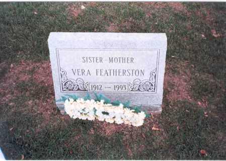 FEATHERSTON, VERA - Franklin County, Ohio | VERA FEATHERSTON - Ohio Gravestone Photos