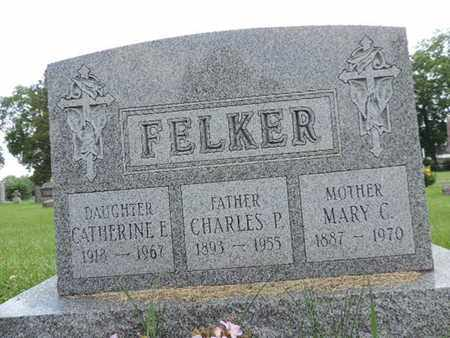 FELKER, CATHERINE E. - Franklin County, Ohio | CATHERINE E. FELKER - Ohio Gravestone Photos