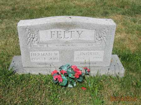 "FELTY, HERMAN WILLIAM ""BILL"" - Franklin County, Ohio 