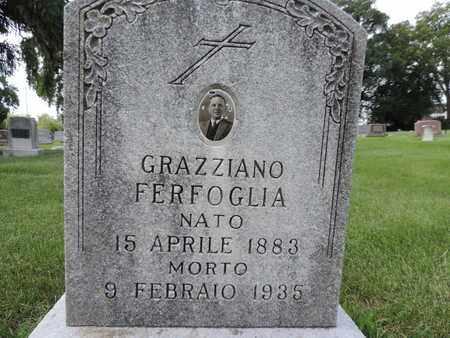 FERFOGLIA, GRAZZIANO - Franklin County, Ohio   GRAZZIANO FERFOGLIA - Ohio Gravestone Photos