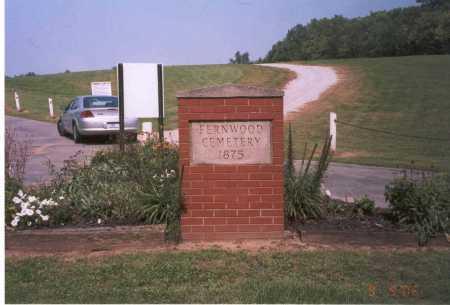 FERNWOOD CEMETERY, ENTRANCE - Franklin County, Ohio   ENTRANCE FERNWOOD CEMETERY - Ohio Gravestone Photos