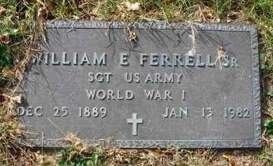 FERRELL, WILLIAM E. - Franklin County, Ohio   WILLIAM E. FERRELL - Ohio Gravestone Photos