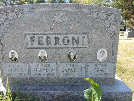 FERRONI, NICOLA - Franklin County, Ohio | NICOLA FERRONI - Ohio Gravestone Photos