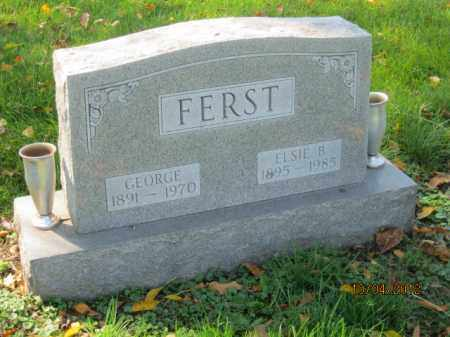 ZIMMERMAN FERST, ELSIE B - Franklin County, Ohio | ELSIE B ZIMMERMAN FERST - Ohio Gravestone Photos