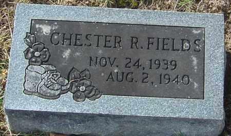 FIELDS, CHESTER R - Franklin County, Ohio   CHESTER R FIELDS - Ohio Gravestone Photos