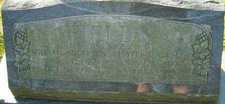 FIELDS, HAZEL ISABELLE - Franklin County, Ohio | HAZEL ISABELLE FIELDS - Ohio Gravestone Photos