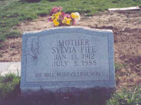 FIFE, SYLVIA - Franklin County, Ohio | SYLVIA FIFE - Ohio Gravestone Photos