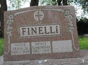 FINELLI, FRANK SR. - Franklin County, Ohio | FRANK SR. FINELLI - Ohio Gravestone Photos