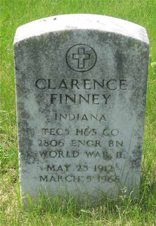 FINNEY, CLARENCE - Franklin County, Ohio | CLARENCE FINNEY - Ohio Gravestone Photos