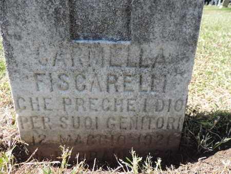 FISCARELLI, CARMELLA - Franklin County, Ohio | CARMELLA FISCARELLI - Ohio Gravestone Photos