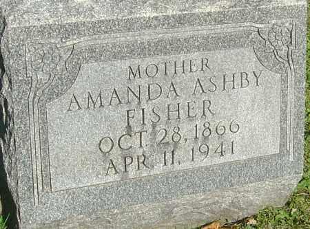 ASHBY FISHER, AMANDA - Franklin County, Ohio | AMANDA ASHBY FISHER - Ohio Gravestone Photos