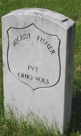FISHER, AUGUST - Franklin County, Ohio   AUGUST FISHER - Ohio Gravestone Photos