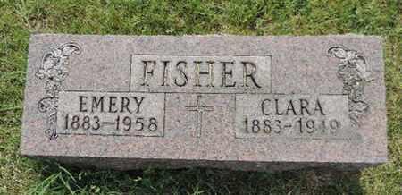 FISHER, EMERY - Franklin County, Ohio | EMERY FISHER - Ohio Gravestone Photos