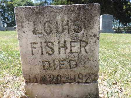 FISHER, LOUIS - Franklin County, Ohio | LOUIS FISHER - Ohio Gravestone Photos