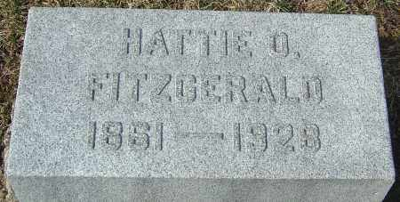 WRIGHT FITZGERALD, HATTIE O - Franklin County, Ohio | HATTIE O WRIGHT FITZGERALD - Ohio Gravestone Photos