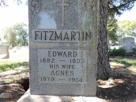 FITZMARTIN, EDWARD - Franklin County, Ohio | EDWARD FITZMARTIN - Ohio Gravestone Photos