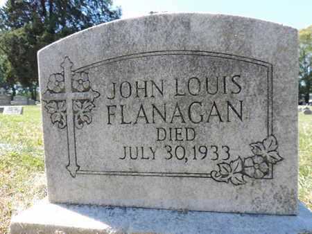 FLANAGAN, JOHN LOUIS - Franklin County, Ohio | JOHN LOUIS FLANAGAN - Ohio Gravestone Photos