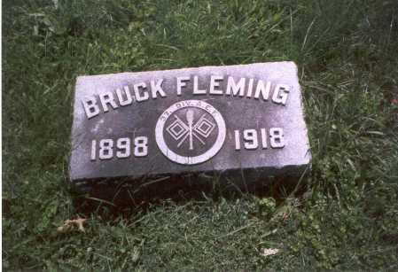 FLEMING, BRUCK - Franklin County, Ohio | BRUCK FLEMING - Ohio Gravestone Photos
