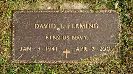 FLEMING, DAVID L. - Franklin County, Ohio | DAVID L. FLEMING - Ohio Gravestone Photos