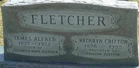 FLETCHER, JAMES ALFRED - Franklin County, Ohio | JAMES ALFRED FLETCHER - Ohio Gravestone Photos