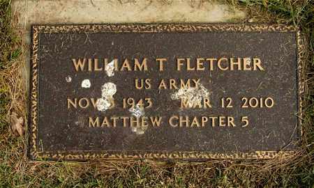FLETCHER, WILLIAM T. - Franklin County, Ohio | WILLIAM T. FLETCHER - Ohio Gravestone Photos