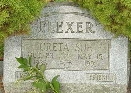 FLEXER, CRETA - Franklin County, Ohio   CRETA FLEXER - Ohio Gravestone Photos