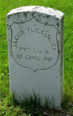 FLICKINGER, JACOB - Franklin County, Ohio | JACOB FLICKINGER - Ohio Gravestone Photos