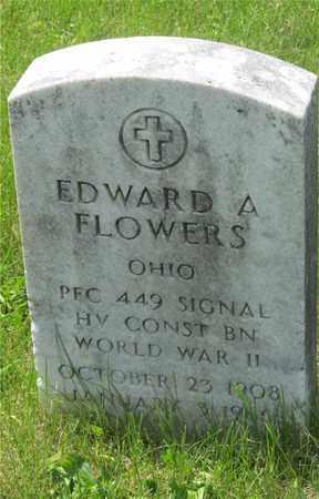 FLOWERS, EDWARD A. - Franklin County, Ohio | EDWARD A. FLOWERS - Ohio Gravestone Photos