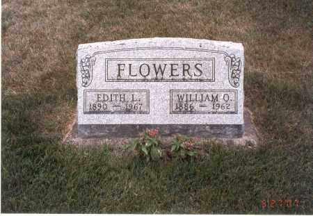 VAN GUNDY FLOWERS, EDITH L. - Franklin County, Ohio | EDITH L. VAN GUNDY FLOWERS - Ohio Gravestone Photos