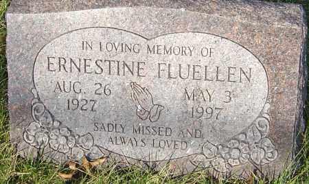 FLUELLEN, ERNESTINE - Franklin County, Ohio | ERNESTINE FLUELLEN - Ohio Gravestone Photos