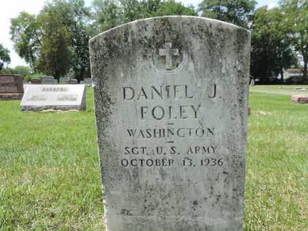 FOLEY, DANIEL J. - Franklin County, Ohio | DANIEL J. FOLEY - Ohio Gravestone Photos