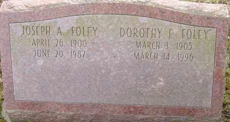 FOLEY, DOROTHY F - Franklin County, Ohio | DOROTHY F FOLEY - Ohio Gravestone Photos