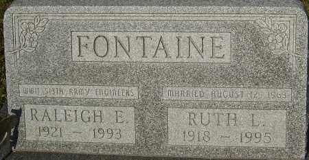 FONTAINE, RALEIGH - Franklin County, Ohio | RALEIGH FONTAINE - Ohio Gravestone Photos