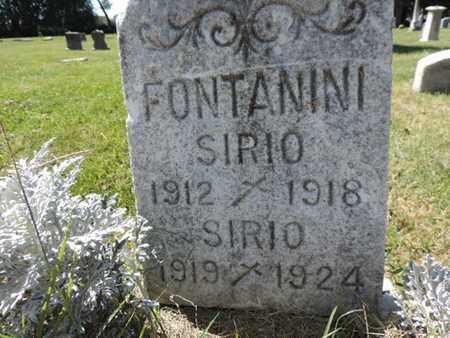 FONTANINI, SIRIO - Franklin County, Ohio   SIRIO FONTANINI - Ohio Gravestone Photos