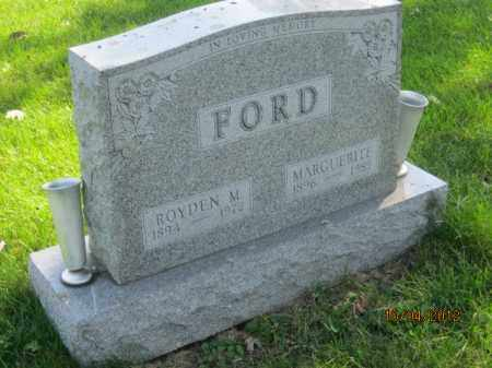 FORD, MARGUERITE - Franklin County, Ohio | MARGUERITE FORD - Ohio Gravestone Photos