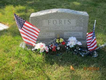 FORIS, VIRGINIA - Franklin County, Ohio | VIRGINIA FORIS - Ohio Gravestone Photos