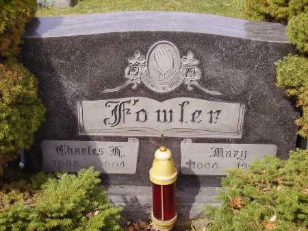 FOWLER, MARY - Franklin County, Ohio | MARY FOWLER - Ohio Gravestone Photos