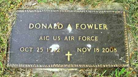FOWLER, DONALD A. - Franklin County, Ohio | DONALD A. FOWLER - Ohio Gravestone Photos