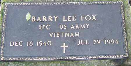 FOX, BARRY - Franklin County, Ohio | BARRY FOX - Ohio Gravestone Photos