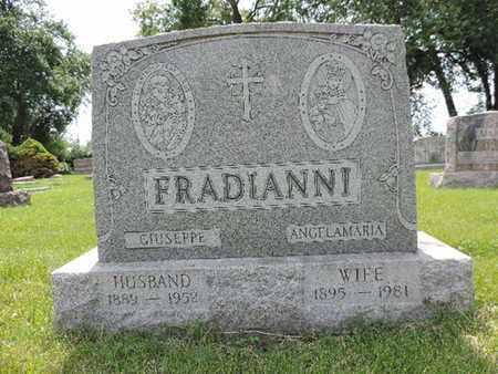 FRADIANNI, ANGELAMARIA - Franklin County, Ohio   ANGELAMARIA FRADIANNI - Ohio Gravestone Photos