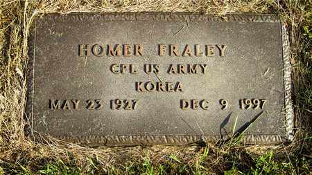 FRALEY, HOMER - Franklin County, Ohio | HOMER FRALEY - Ohio Gravestone Photos