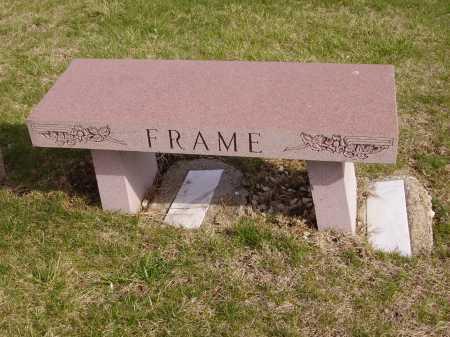 FRAME FAMILY, MONUMENT - Franklin County, Ohio | MONUMENT FRAME FAMILY - Ohio Gravestone Photos
