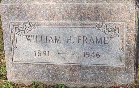 FRAME, WILLIAM H - Franklin County, Ohio   WILLIAM H FRAME - Ohio Gravestone Photos