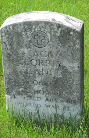 FRANCE, JACK MORRIS - Franklin County, Ohio | JACK MORRIS FRANCE - Ohio Gravestone Photos