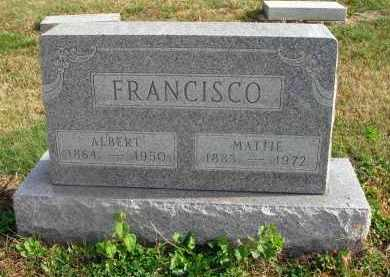 FRANCISCO, ALBERT - Franklin County, Ohio | ALBERT FRANCISCO - Ohio Gravestone Photos